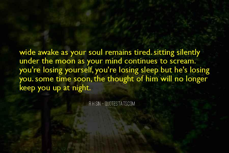 Night Time Sleep Quotes #1475719