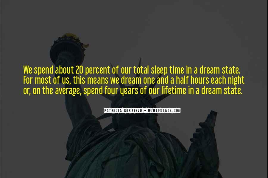 Night Time Sleep Quotes #1669085