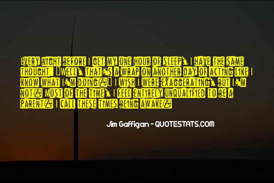 Night Time Sleep Quotes #1696191