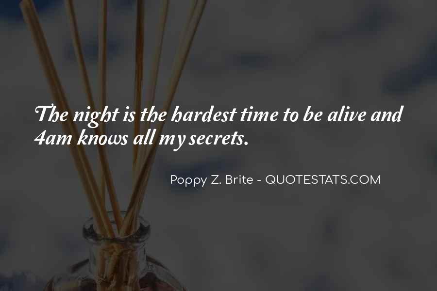 Night Time Sleep Quotes #1784854