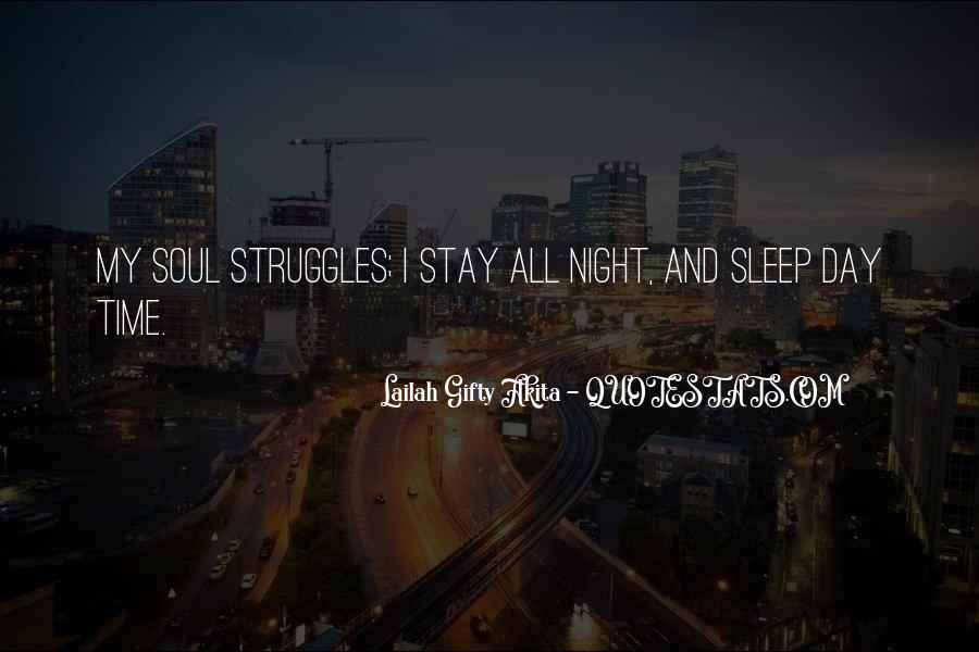 Night Time Sleep Quotes #1786184