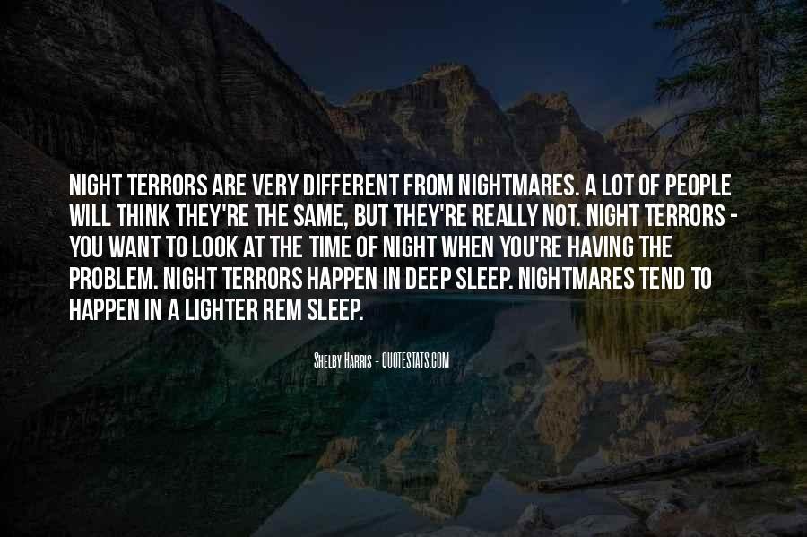 Night Time Sleep Quotes #1833244