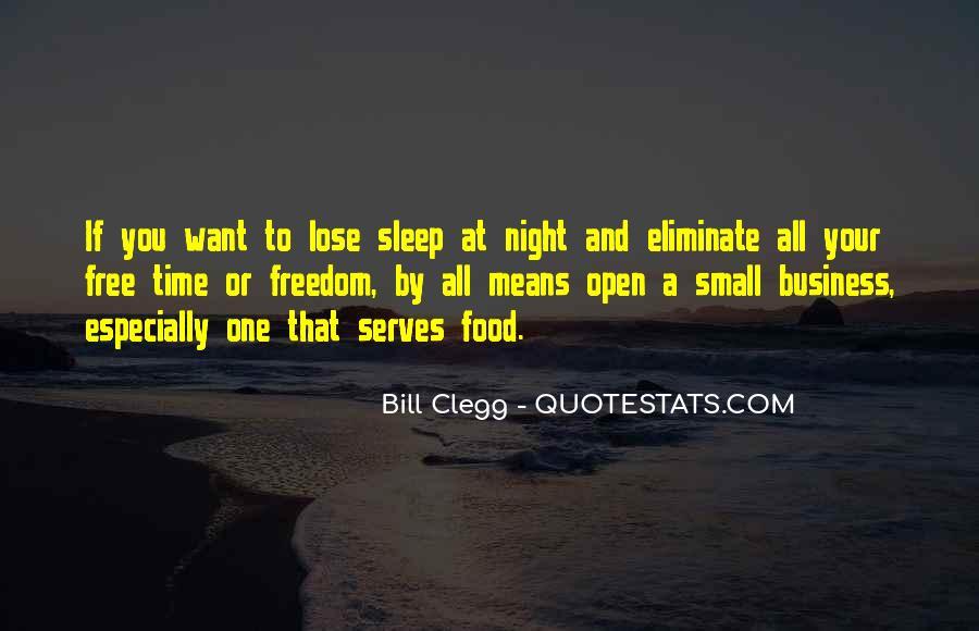 Night Time Sleep Quotes #25941