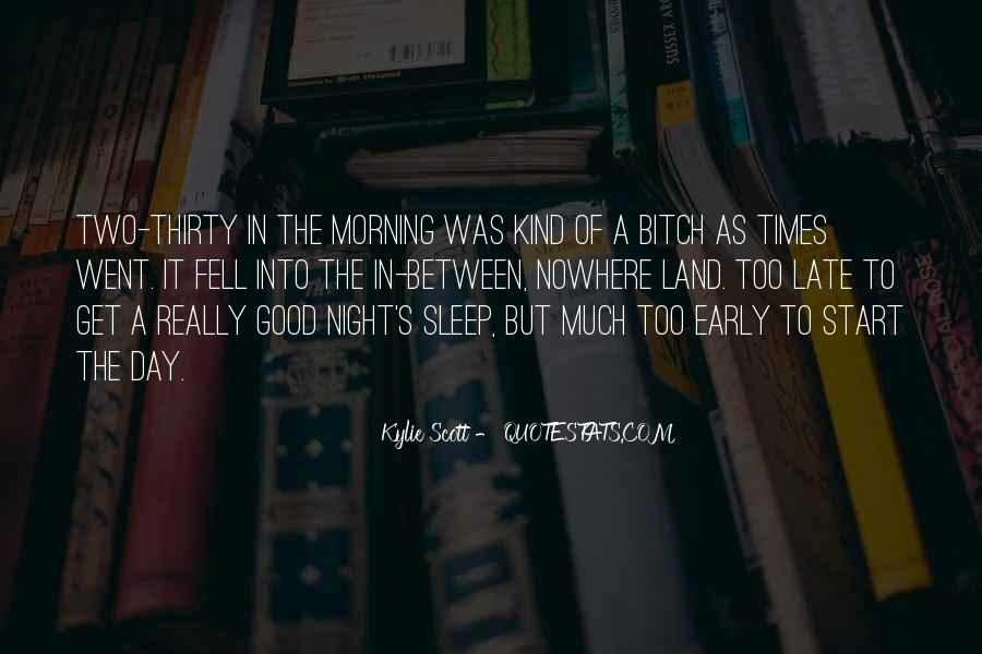 Night Time Sleep Quotes #608244
