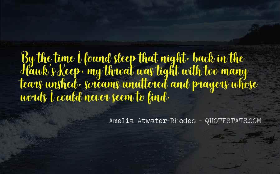 Night Time Sleep Quotes #937695