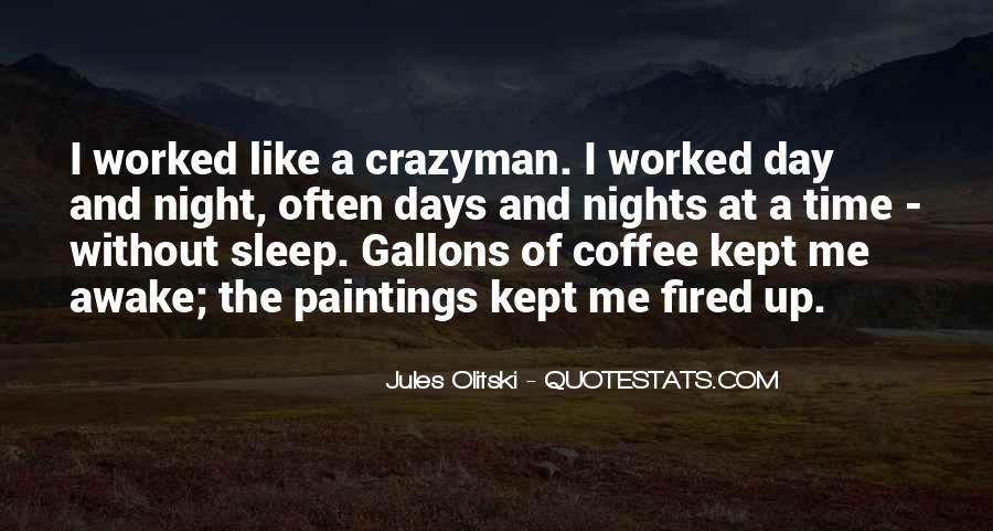 Night Time Sleep Quotes #94452