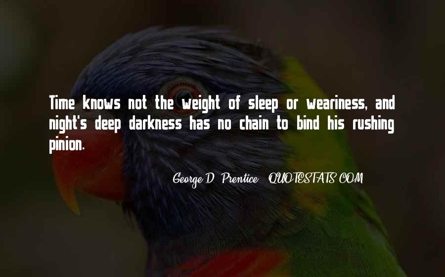 Night Time Sleep Quotes #966740
