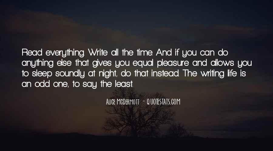 Night Time Sleep Quotes #967102