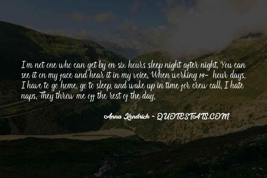 Night Time Sleep Quotes #977572
