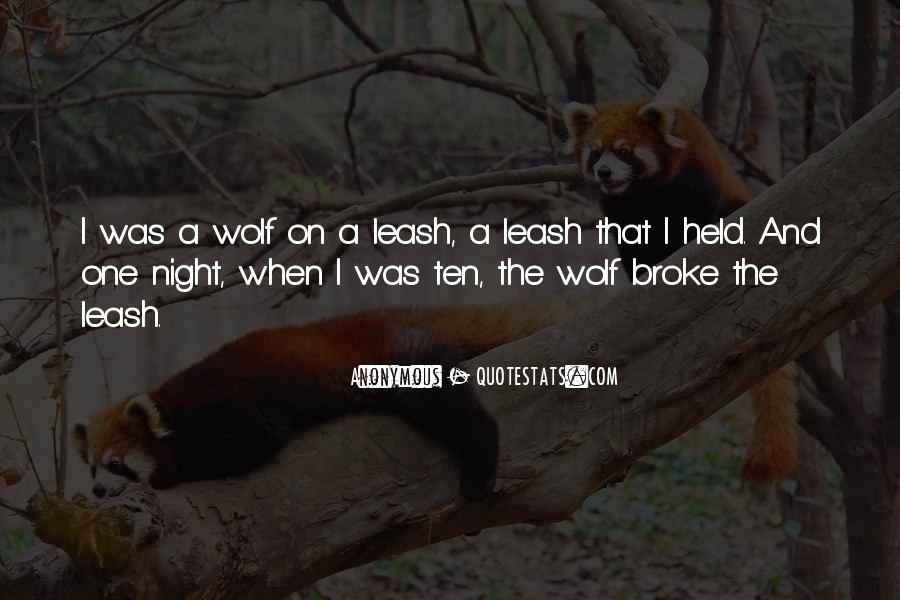 Night Wolf Quotes #1370289