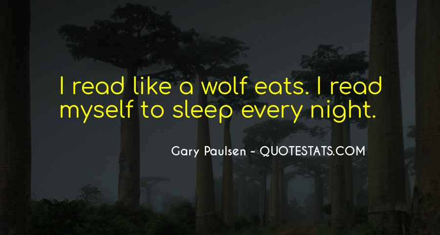 Night Wolf Quotes #1625664