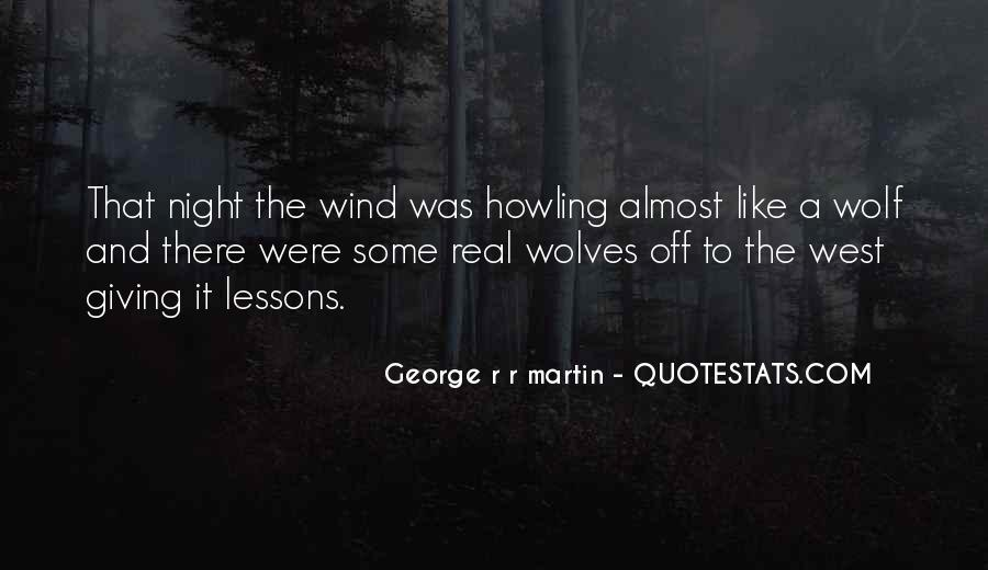 Night Wolf Quotes #1736109