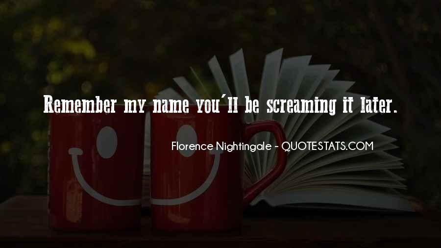 Nightingale Florence Quotes #114579