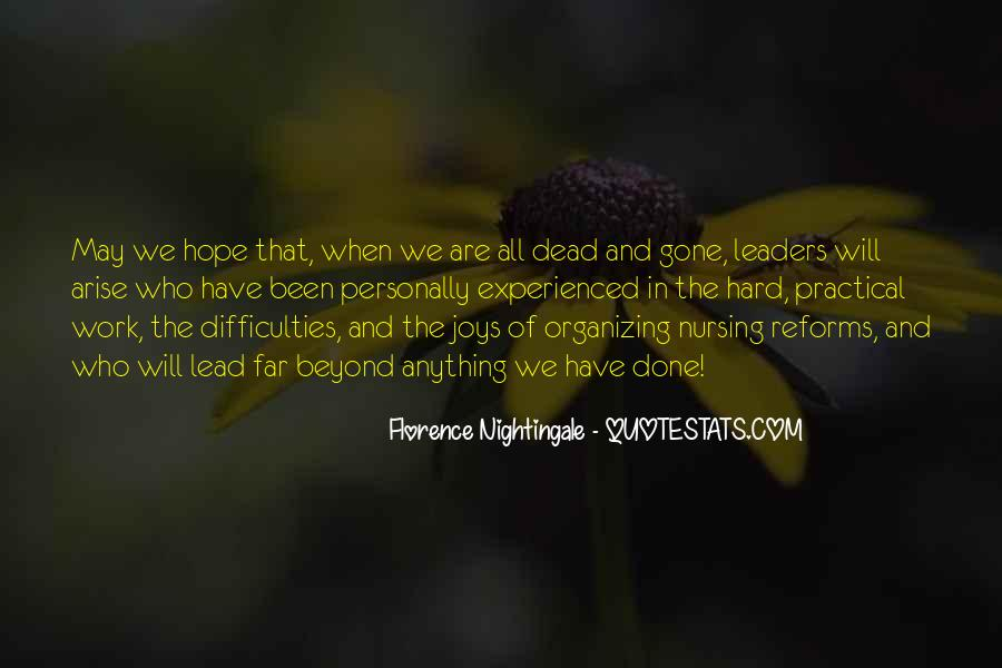 Nightingale Florence Quotes #1346462