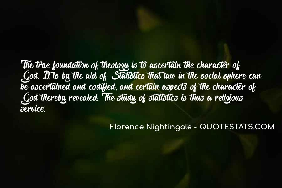 Nightingale Florence Quotes #137833