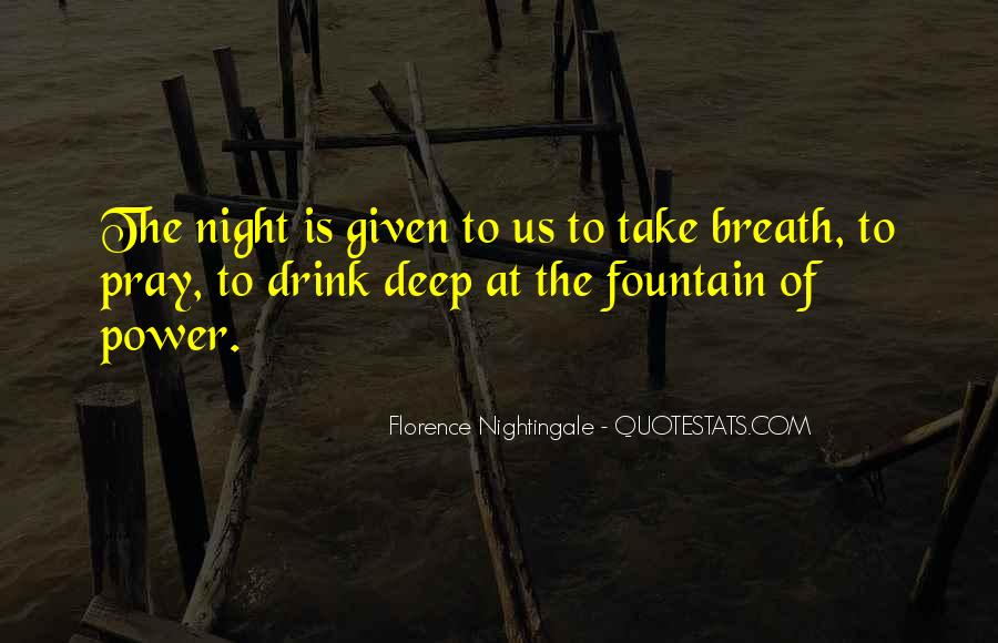 Nightingale Florence Quotes #1386860