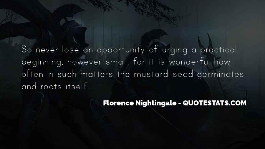 Nightingale Florence Quotes #328839