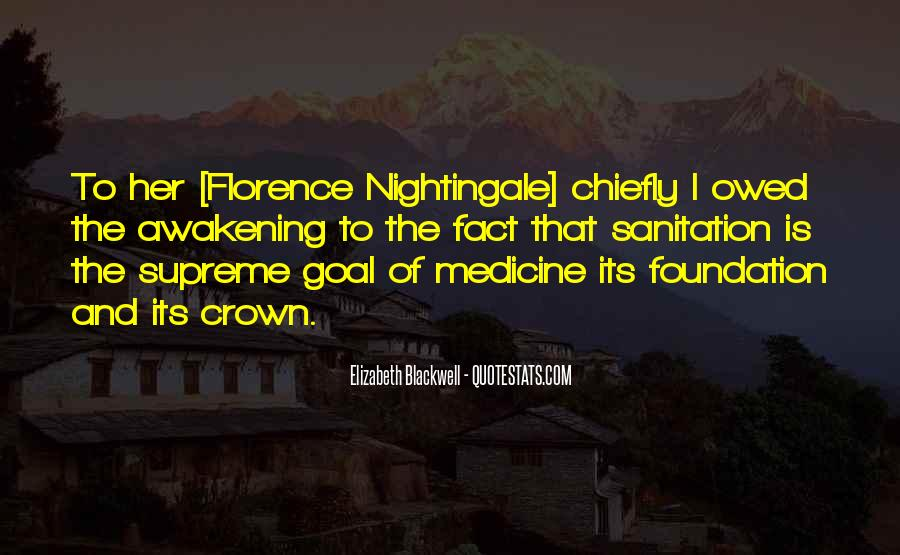 Nightingale Florence Quotes #396856