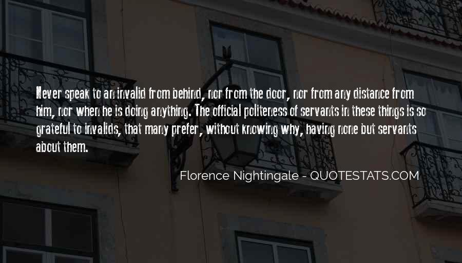 Nightingale Florence Quotes #451789