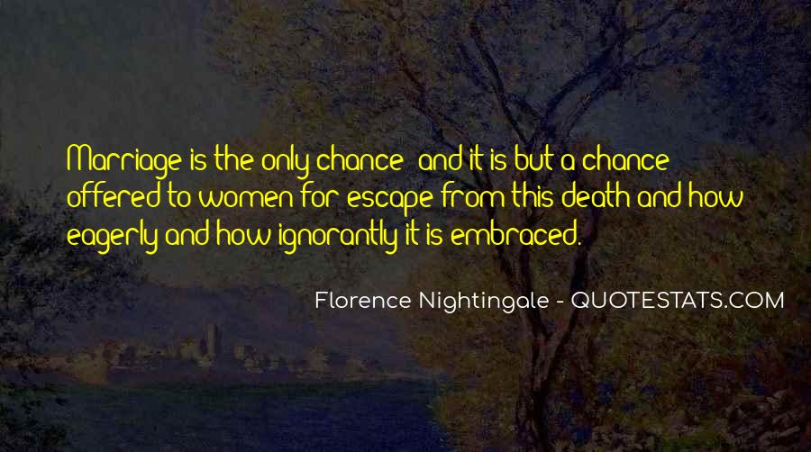 Nightingale Florence Quotes #625720