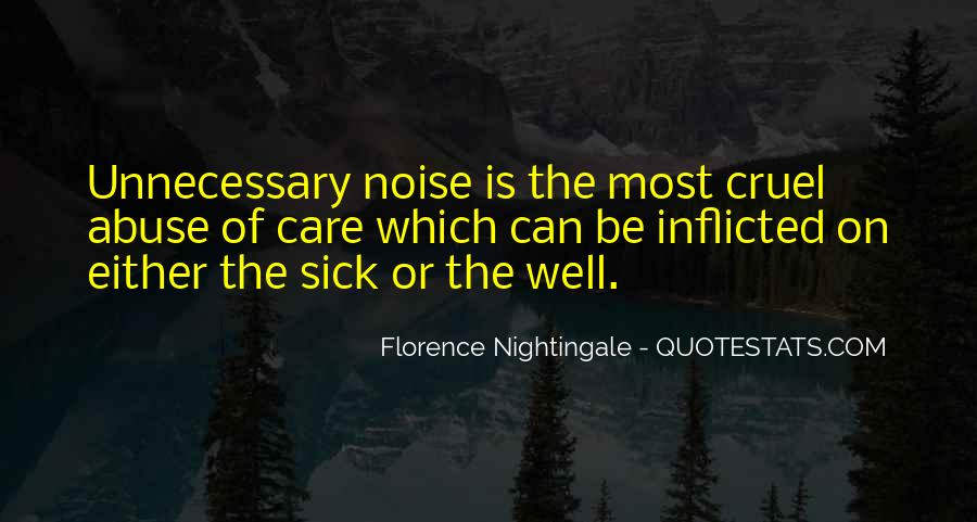 Nightingale Florence Quotes #714688