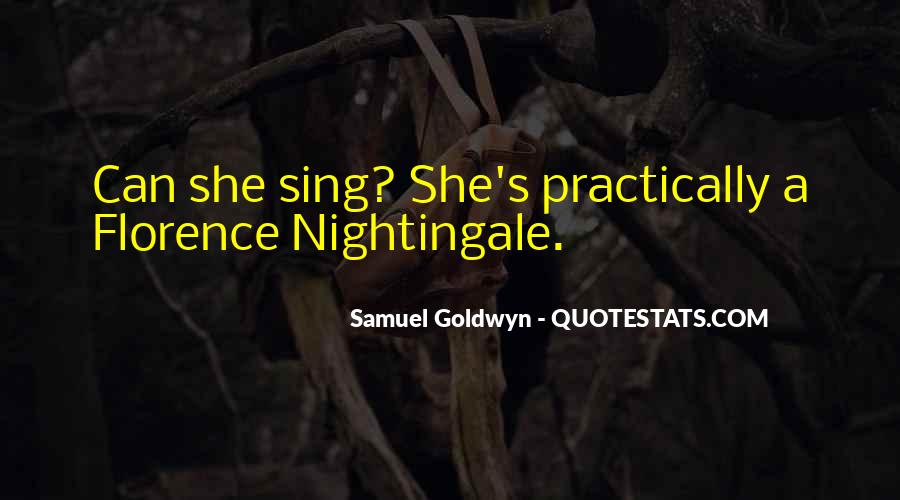 Nightingale Florence Quotes #883050