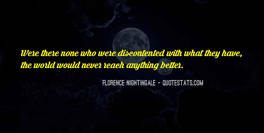 Nightingale Florence Quotes #919216