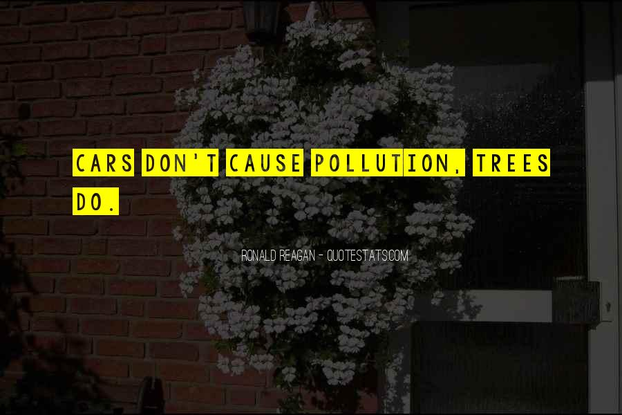 Quotes About Car Pollution #901334