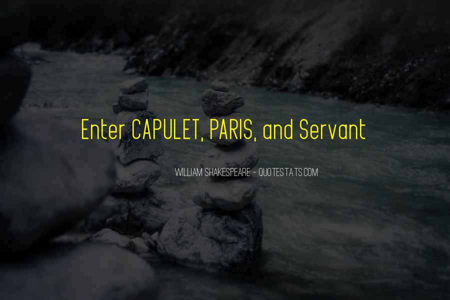 Quotes About Capulet Paris #415893