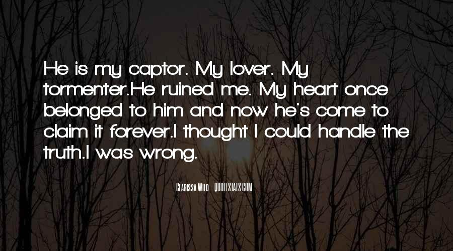 Quotes About Captor #102356