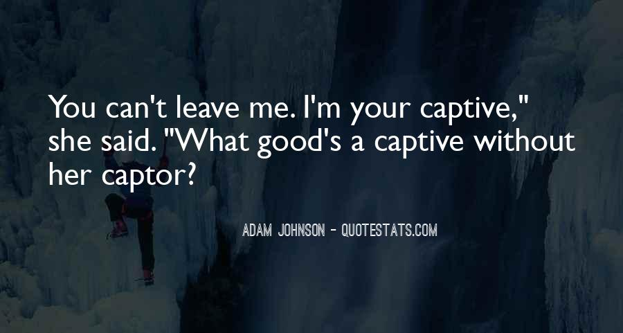 Quotes About Captor #1114334
