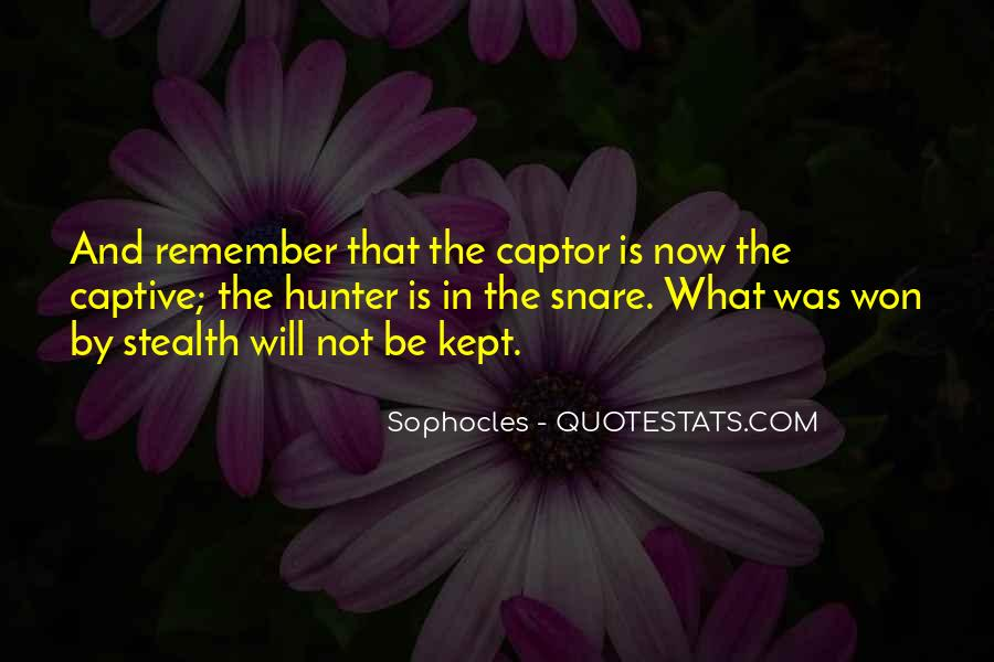Quotes About Captor #1758173
