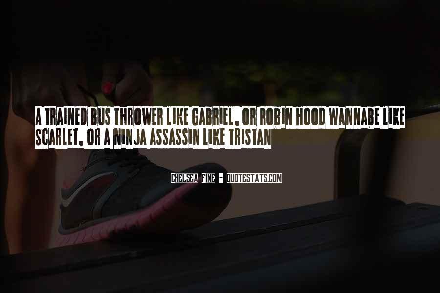 Ninja Assassin Quotes #384884