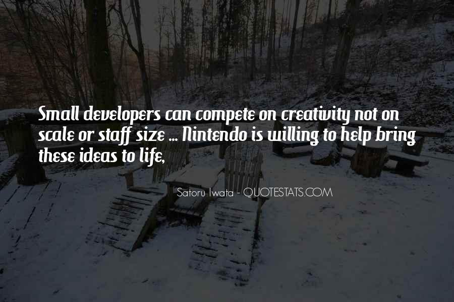 Nintendo Satoru Iwata Quotes #1073896