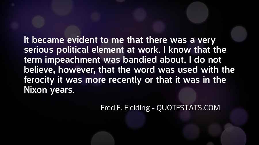 Nixon Impeachment Quotes #1242891