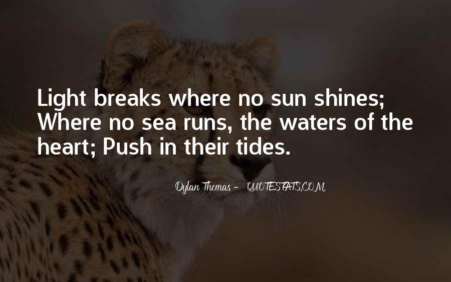 No Breaks Quotes #236977