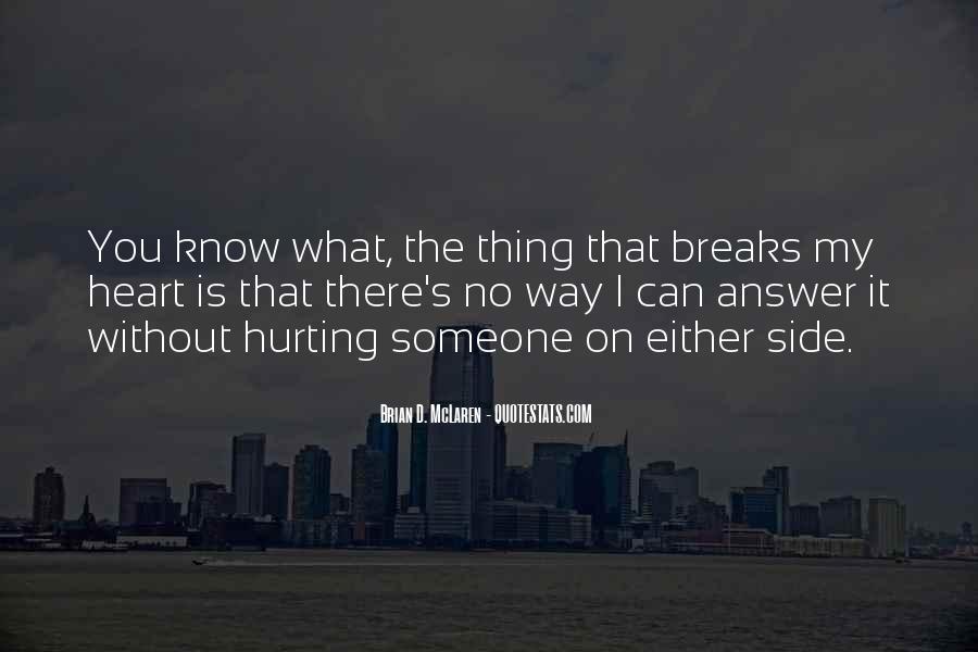 No Breaks Quotes #250993