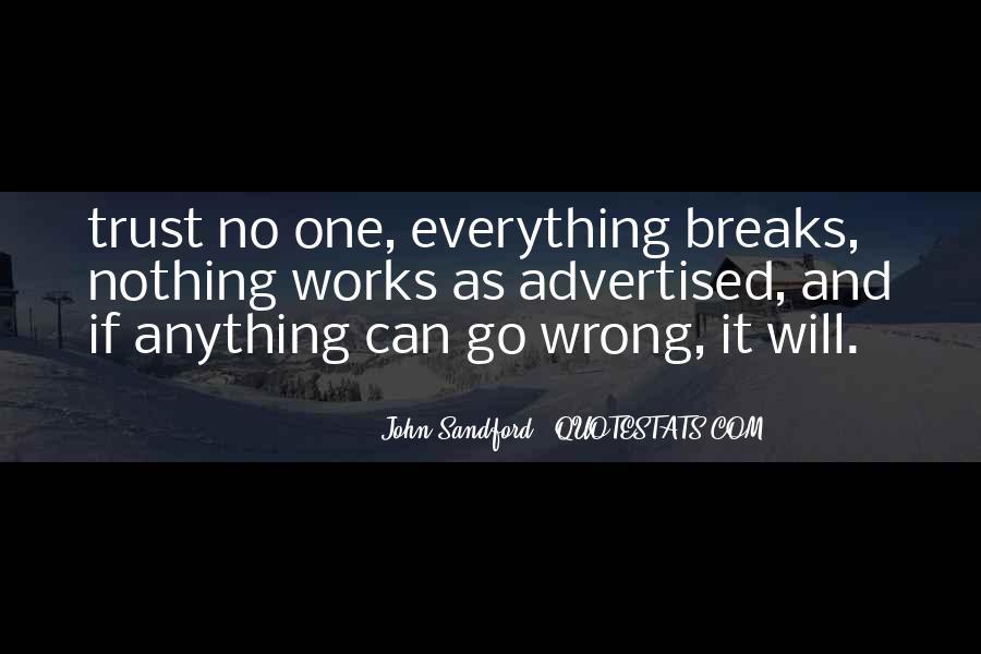 No Breaks Quotes #405479