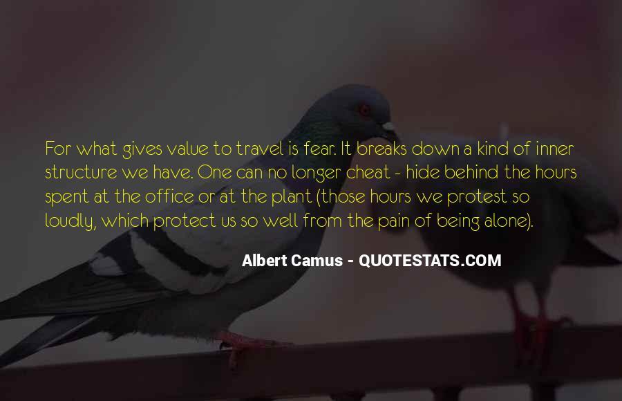 No Breaks Quotes #525396