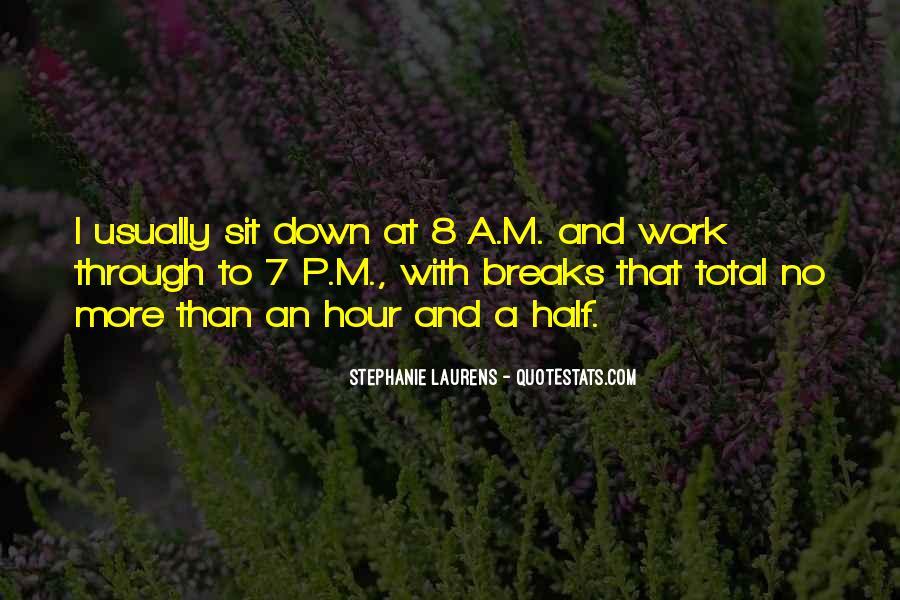 No Breaks Quotes #724944