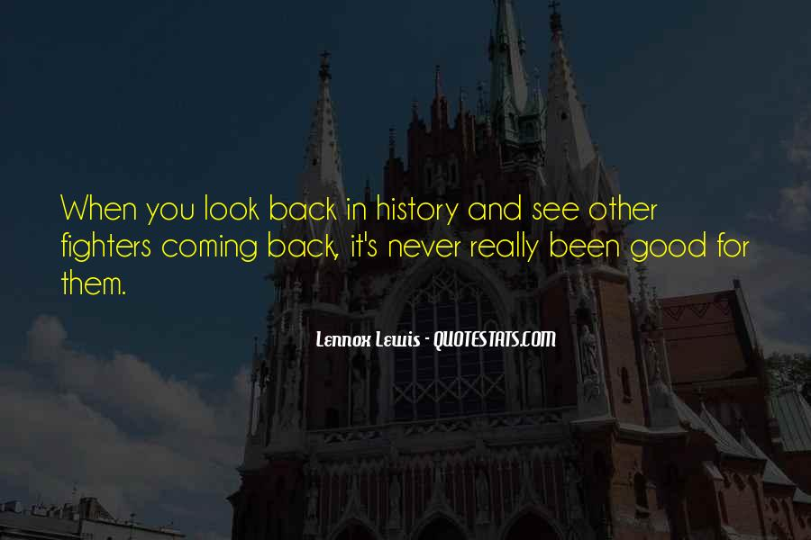 No Coming Back Quotes #110815