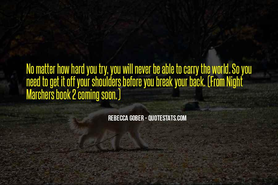 No Coming Back Quotes #126997