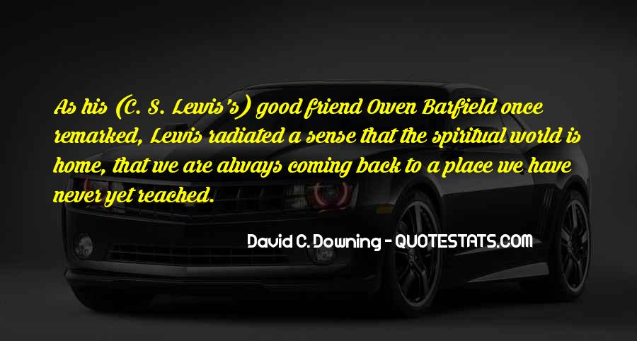 No Coming Back Quotes #16623