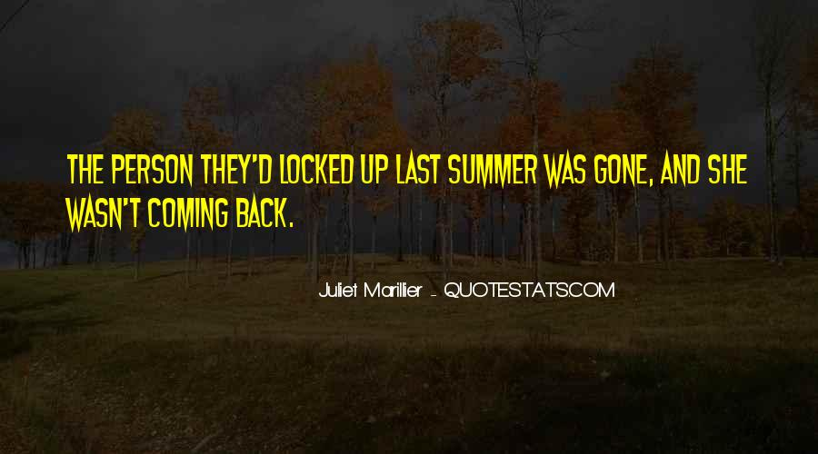 No Coming Back Quotes #172369