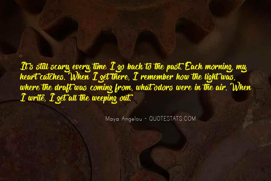 No Coming Back Quotes #172571