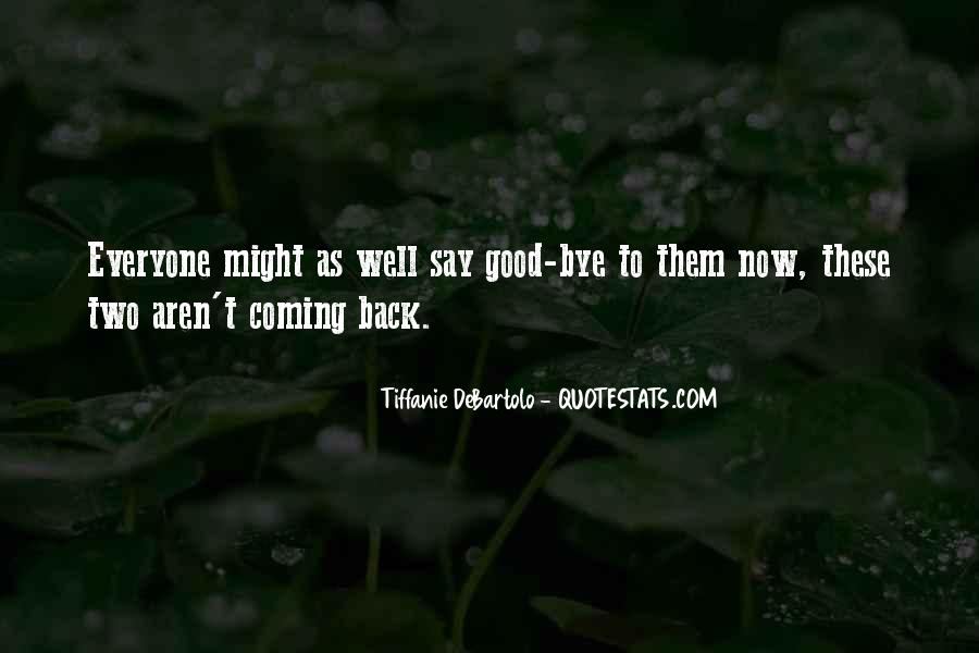 No Coming Back Quotes #88402