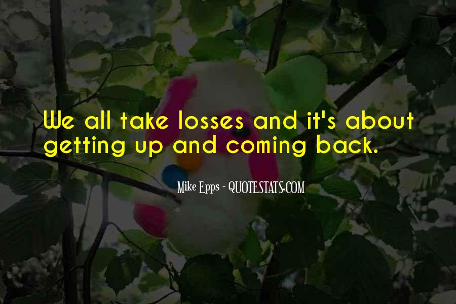 No Coming Back Quotes #97577