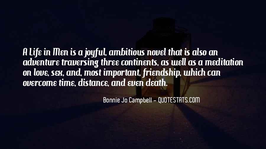 No Distance Friendship Quotes #1162535