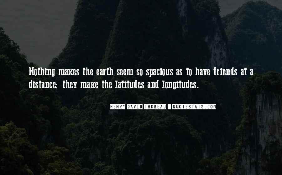 No Distance Friendship Quotes #1252613