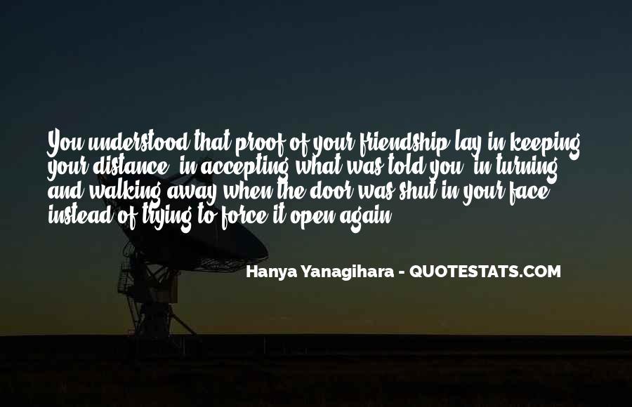 No Distance Friendship Quotes #1570077